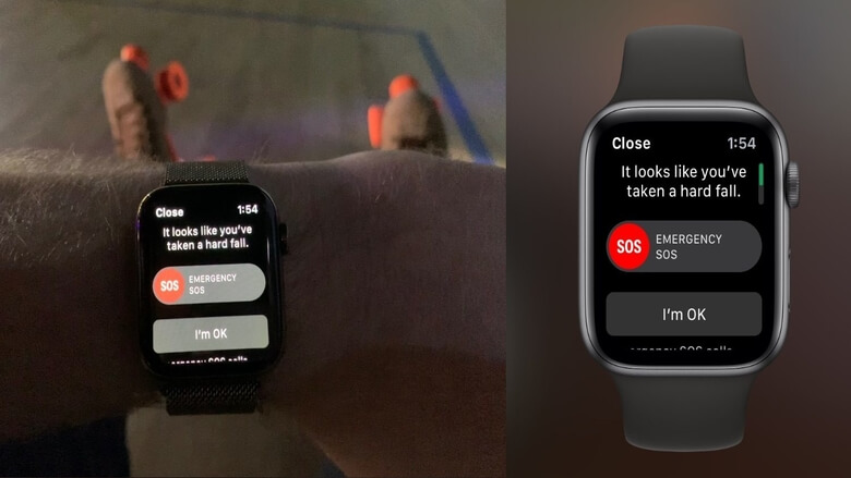 Apple Watch Saves Life after a Couple falls off a Cliff